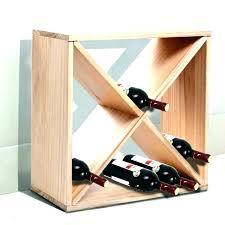 pottery barn wine rack cube storage shelf rustic wall mounted glass s32 rack