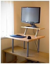 Contemporary Stand Up Desk Attachment Inside Beautiful Standing Chair Office  In ...
