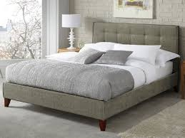 chelsea fabric bed frame fudge