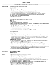 Service Writer Resume Service Writer Resume Samples Velvet Jobs 1