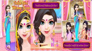 indian makeup salon android gameplay