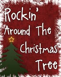 Rockinu0027 Around The Christmas Tree Printable  Over The Big MoonRock In Around The Christmas Tree