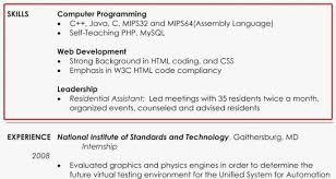 Computer Skills For Resume Custom Cv Computer Skills Put On Resume Template Design 60 Experience