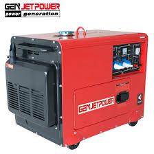 small portable diesel generator. Small Portable Diesel Generator Air-Cooled 7kw Silent M
