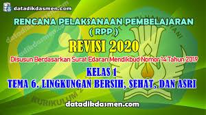 Xi (wajib)/2 nama guru : Rpp 1 Lembar Kelas 1 Tema 6 Sd Mi Kurikulum 2013 Revisi 2020 Tahun Pelajaran 2020 2021 Datadikdasmen
