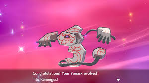 Shiny Pokemon Evolution Chart Pokemon Sword Shield How To Evolve Yamask Into Runerigus