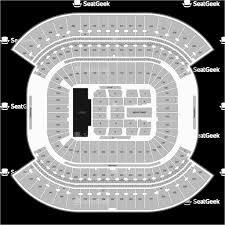 Tennessee Football Parking Map Nissan Stadium Seating Chart