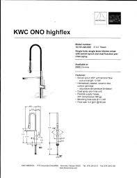 Kwc Kitchen Faucet Parts Kwc Faucets Navtejkohlimdus