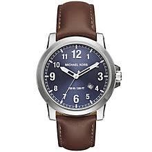 michael kors watches designer watches ernest jones michael kors men s stainless steel strap watch product number 5274001