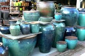 glazed ceramic pot large ceramic garden