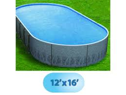 12 x 16 oval radiant metric series insulated wall above ground pool rad poo 1226 by
