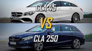 2017 Mercedes-AMG CLA 45 vs CLA 250 | AMG CLA45 4MATIC VS AMG ...