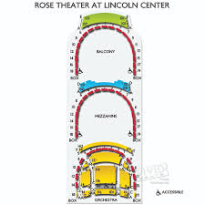 Jazz At Lincoln Center Rose Theater Seating Chart Interpretive Rose Hall Lincoln Center Seating Chart 2019
