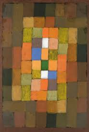 paul klee static dynamic intensification 1923 watercolour and transferred printing ink on