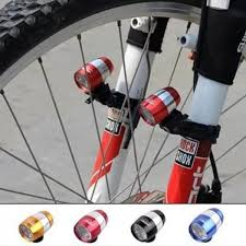 Bicycle Lights Waterproof Ultra Bright 6 <b>LED Bicycle Bike Front</b> ...