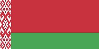 Fehéroroszország vaktérkép, fehéroroszország partvonala és határvonala. Belarus Potato Export Skyrockets