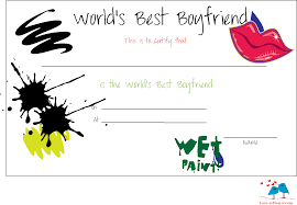 printable world s best boyfriend certificates funky love certificate for boyfriend