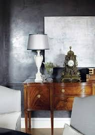 silver paint colorsWall color is silver as light within the interior design design