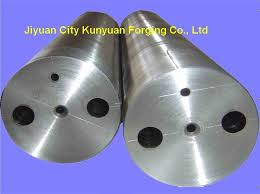 48crmo dimension 270 550mm alloy steel corrugated iron roller for paper machine
