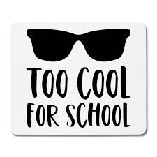 Simsalapimp Schule Spruch Too Cool For School Sonnenbrille
