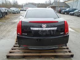 Cadillac Cts Lights 2011 Cadillac Cts V Sedan Complete Rear Clip Tail Lights Bumper Decklid Black