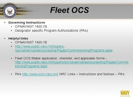 Opnavinst 1420 1b U S Navy Ocs Active Duty Enlisted Drilling Reservists Ppt Video