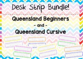 Queensland Cursive Alphabet Chart Queensland Cursive Worksheets Teaching Resources Tpt
