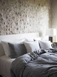 bed linen 100 linen dark grey melange