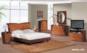 Modern Wood Bedroom Furniture. Real Wood Bedroom Furniture Platform Bed  \u2013 Homivo Design Great