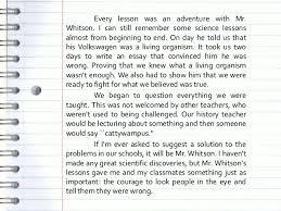 the best teacher in the world essay a good teacher essay essays