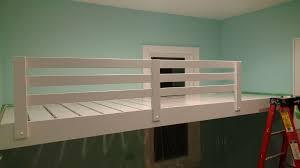 Floating loft bed Diy Picture Of Loft Bed Floating Instructables Loft Bed Floating with Pictures
