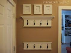 Crown Molding Coat Rack How to Build a Wall Shelf With Hooks Shelves Walls and Shelving ideas 37