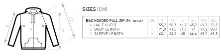 Hoodie Size Chart MisÞyrming Algleymi Hoodie