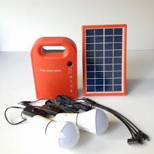 portable 3w mini solar home system solar energy kit solar generator with 2 bulbs lead acid battery outdoor solar camping light in solar lamps from lights