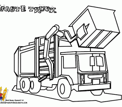Small Picture Garbage truck coloring pages new garbage truck coloring page 68 on