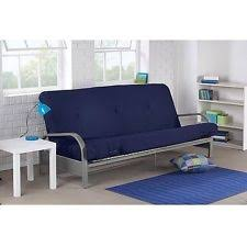 futon sofa bed. Futon Sofa Bed With MATTRESS Lounger Dorm Couch Modern Convertible Sleeper NEW