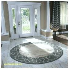 foot round rug area rugs 8 x ft 10 13 amazing brown within