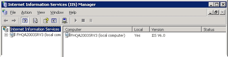 IIS 6.0) Set Index.html as default document