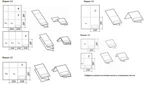 Общие документы складывание чертежей