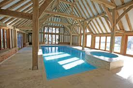Eposing Beams Inside Indoor Swimming Pool ...