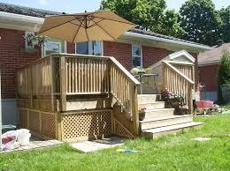 wood patio decks