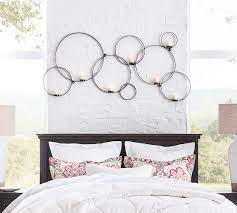 circles wall mount votive holder