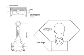 Sbc Compression Height Chart Effects Of Connecting Rod Length In Stroker Engines