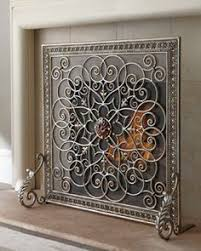 Unique fireplace screens Hearth Janice Minor Pinterest 115 Best Fireplace Screens Images In 2019 Fire Places Fake
