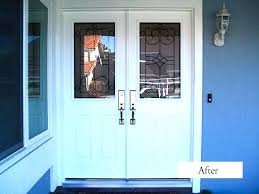 white entry doors front entry doors ideas white entry doors with silver handle matched with blue white entry doors