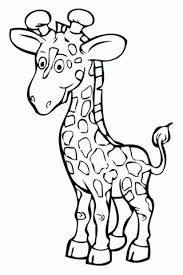 Baby Giraffe Coloring Pages Lovely Giraffe Coloring Pages Printable