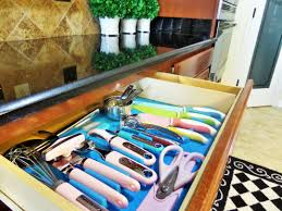 Kitchen Drawer Organizer Kitchen Drawer Organization Be My Guest With Denise