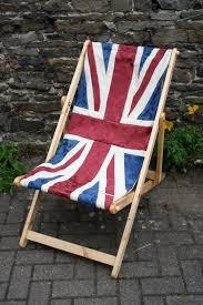 fl union jack flag deck chair recliner folding by byebrytshi 95 00
