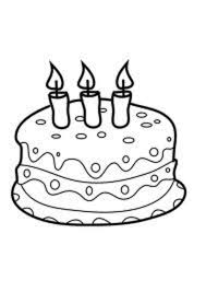 Small Picture candle Birthday Cake Coloring Pages smile coloring Pinterest
