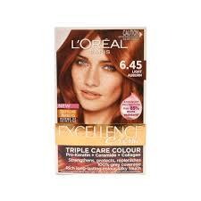 Excellence Creme Light Auburn Details About Loreal Excellence Creme Hair Colour 6 45 Light Auburn